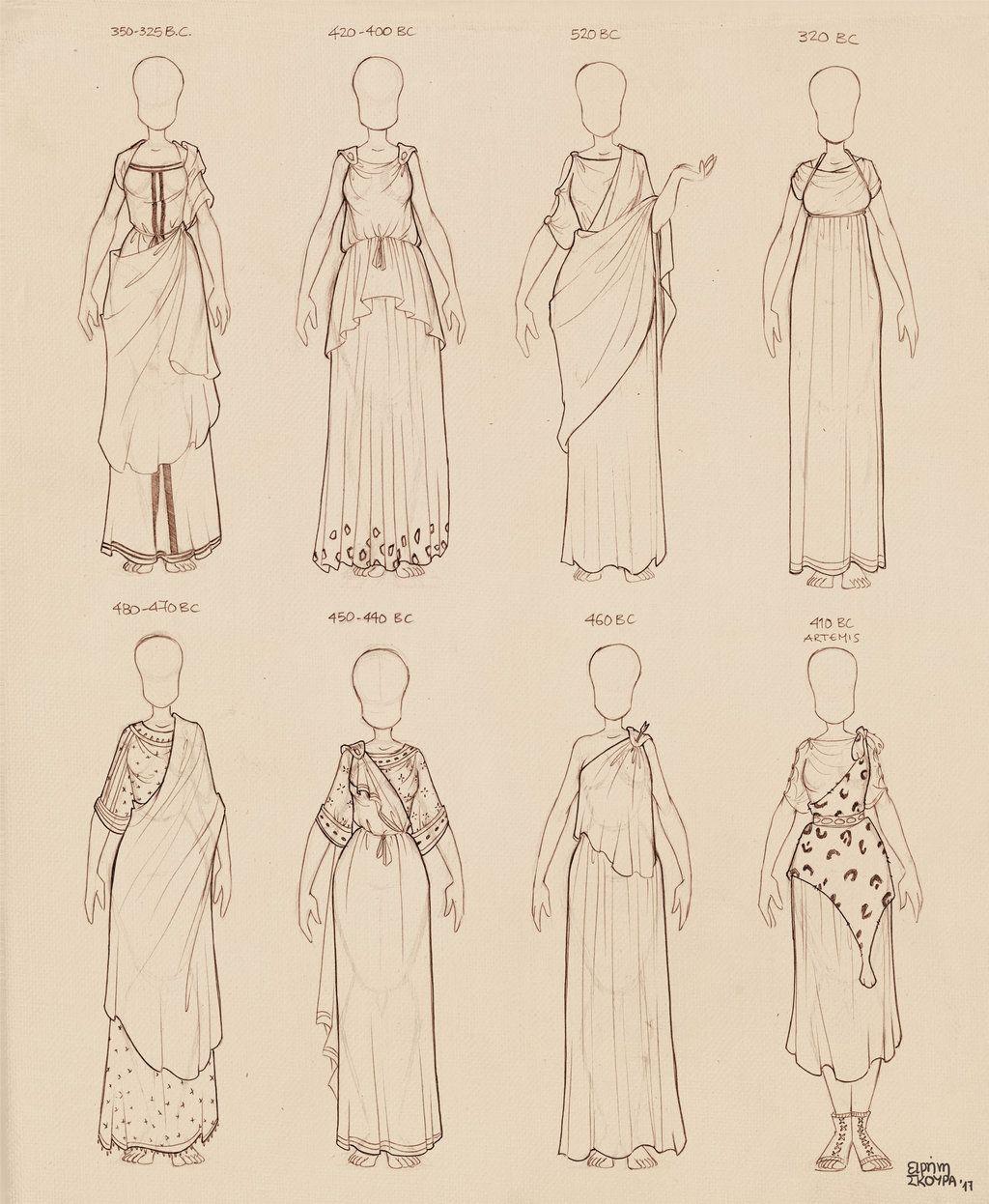 Ancient Greek Dresses Vol 2 by Ninidu | Athena 2018 Fall/Winter ...