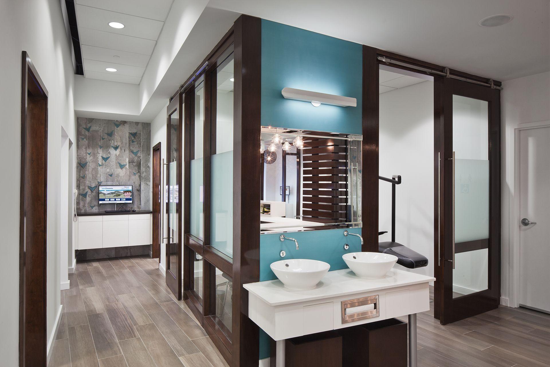 Tasios Orthodontics - Brushing Station | Dental Design | Pinterest ...