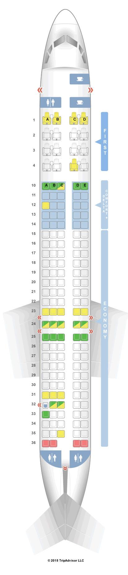SeatGuru Seat map by tripadvisor to help you choose seats on a ...