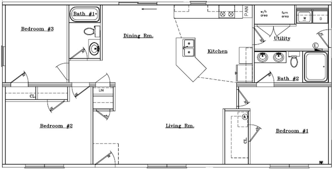 Homes By Stoddard S Open Ranch Ranch Style Floor Plans Floor Plans Ranch Ranch House Floor Plans