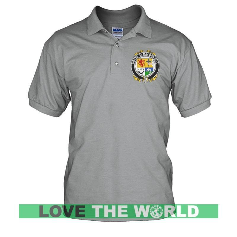 bcc57d27 Ireland Polo Shirt - Macdonnell (Of The Glens) (Men's) A0 in 2019 ...