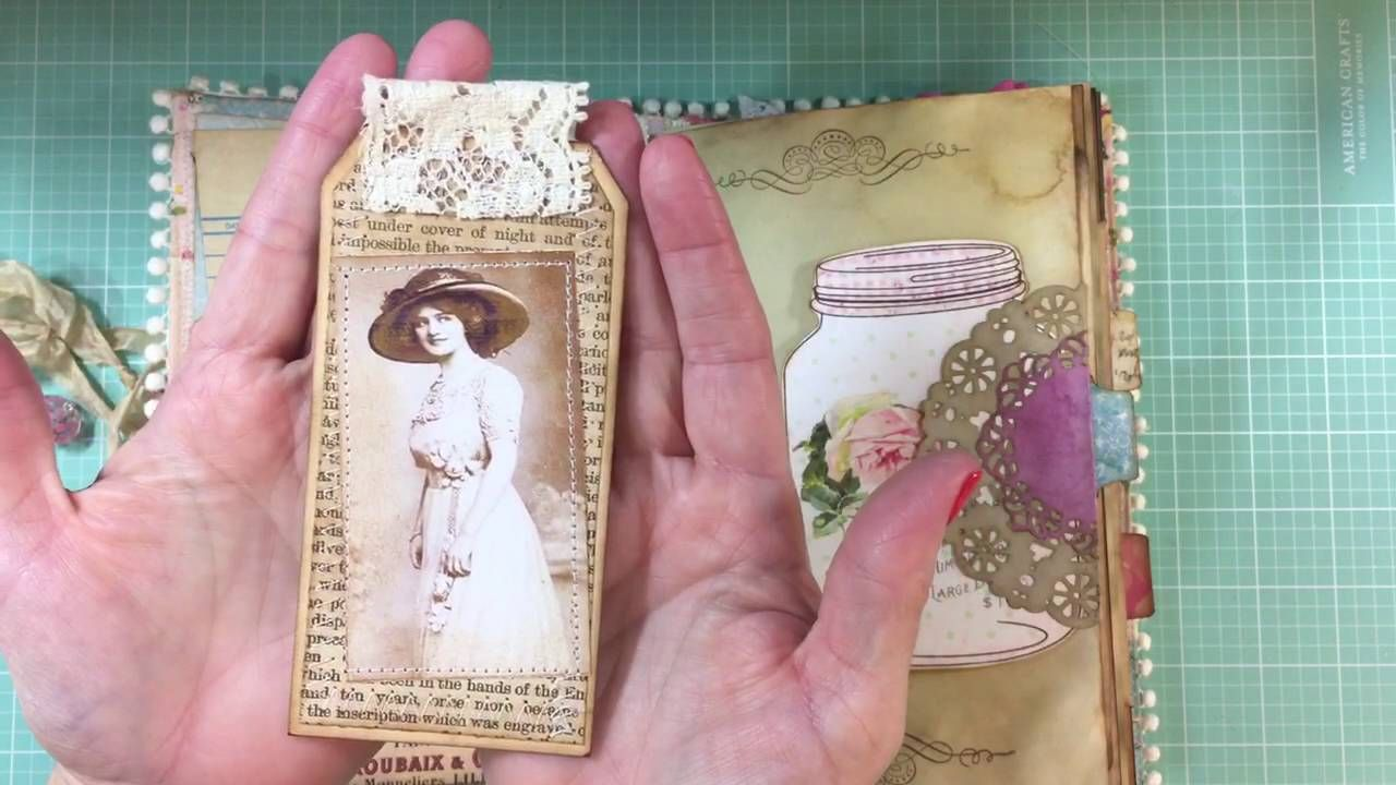 Outgoing: Shabby & Vintage Junk Journal for Lori (Just A Girl From The Bay)