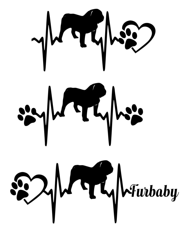 American Bulldog Svg Dog Breed Svg Dog Svg Files Dog