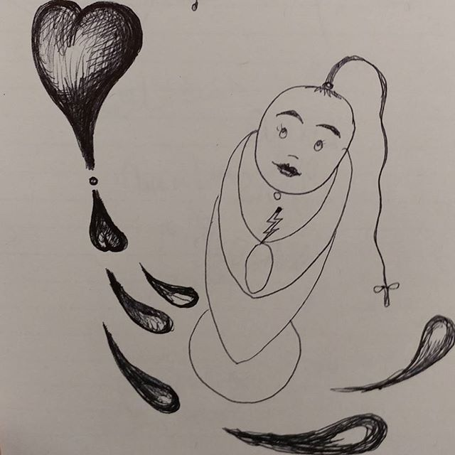 Love is magical, no matter where or when. Happy Chinese New Year #chinesenewyear #love #chinese #dailydoodle #doodleaday #artistoninstagram #dowhatyoulove #artoninstagram #susanneszippl #paintingonheartsideofbrain #iteach you to paint on artisessential.co