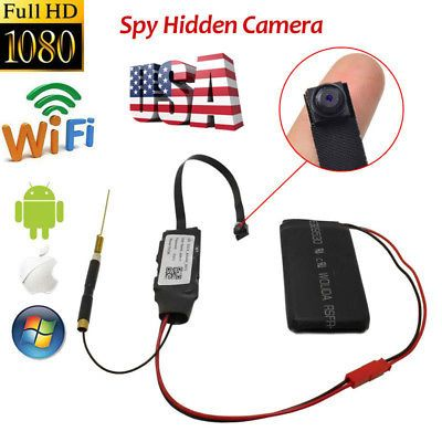 Mini HD Wireless WIFI IP Camera Hidden DIY Module DV DVR Nanny Micro Cam FHD