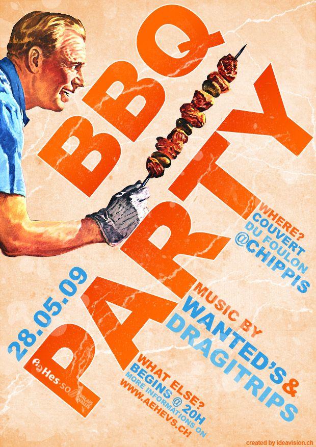 bbq party flyerjonaska.deviantart on @deviantart | print ads