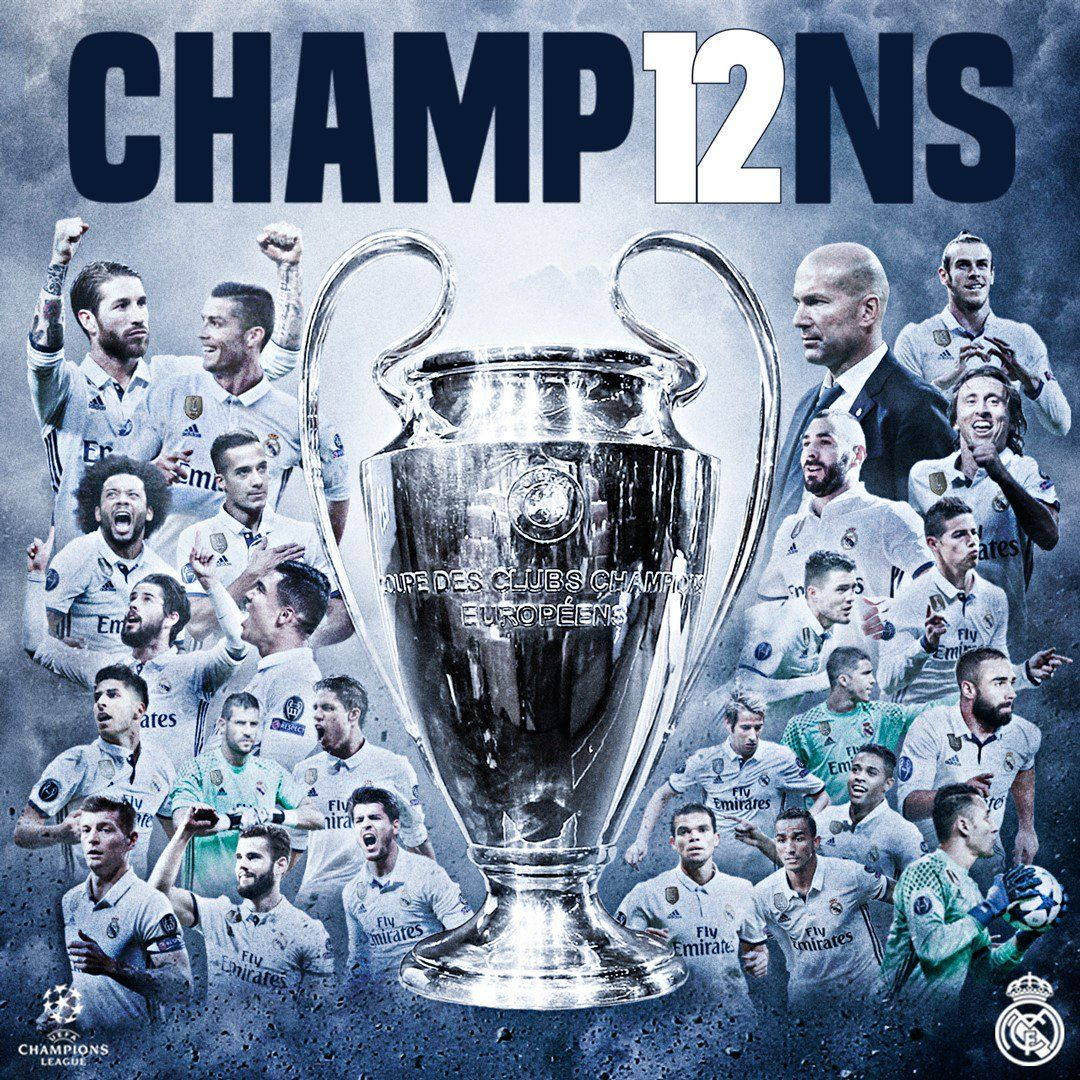 UEFA Champions 2017 HalaMadrid Real madrid, Madrid