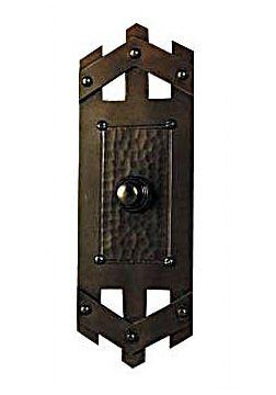 Craftsman · Craftsmen Hardware Pickett Style Doorbell Button ...  sc 1 st  Pinterest & Craftsmen Hardware Pickett Style Doorbell Button | seattleluxe.com ...