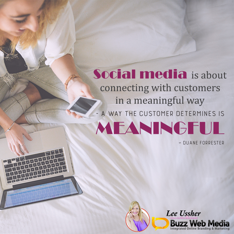 Create a presence on #SocialMedia where your target clients are otherwise it's like setting up shop in the desert!  #SM #socialnetworking