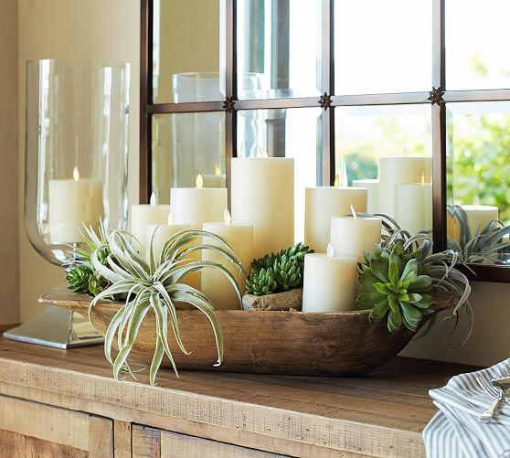 21 Most Unique Wood Home Decor Ideas: Premium Flicker Flameless Wax Candles