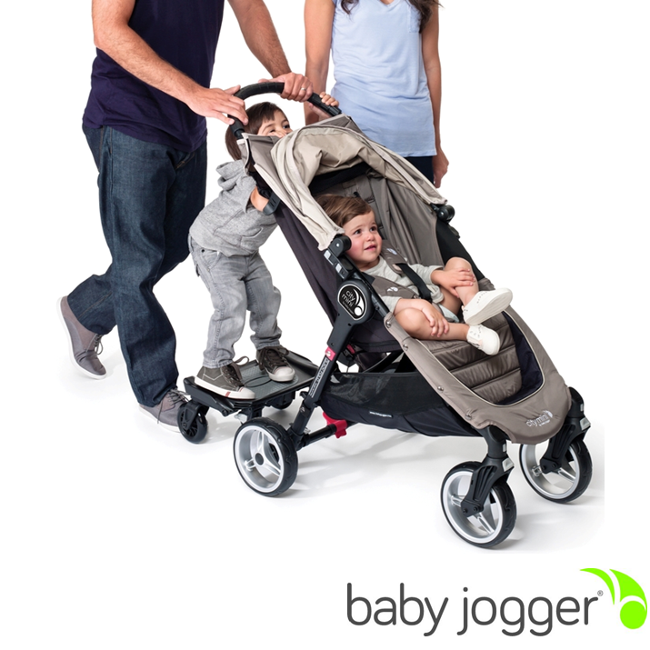 Baby Jogger Glider Board Attaches Easily To The Rear Axle Of Your