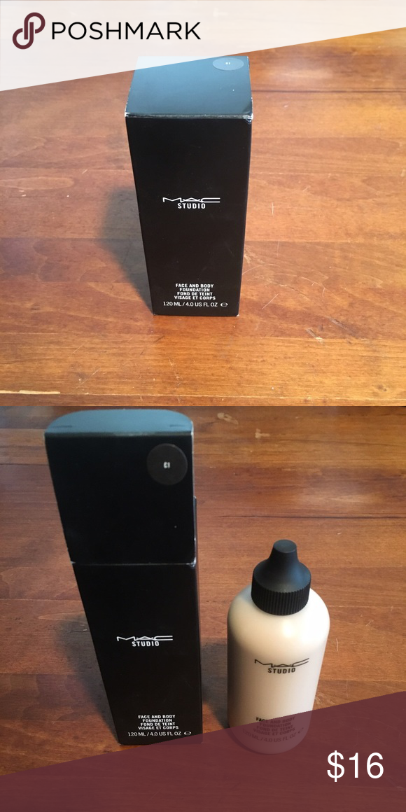 Mac Face and Body Foundation C1 Mac face and body, Body