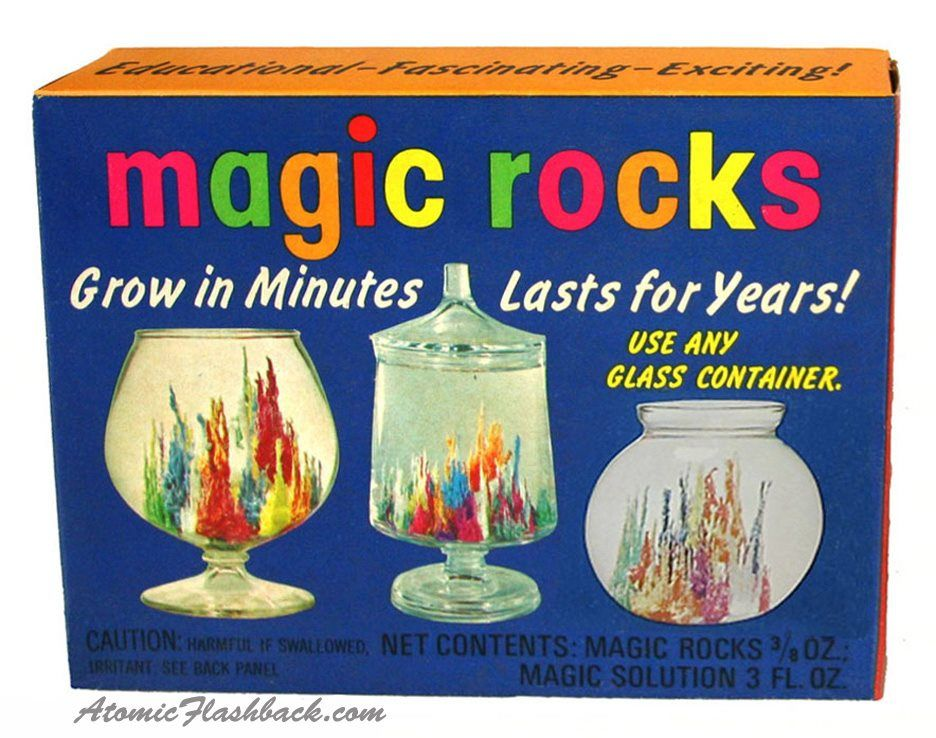 Magic Rocks This Was A Must Have Toy In The 60 S I Remember It
