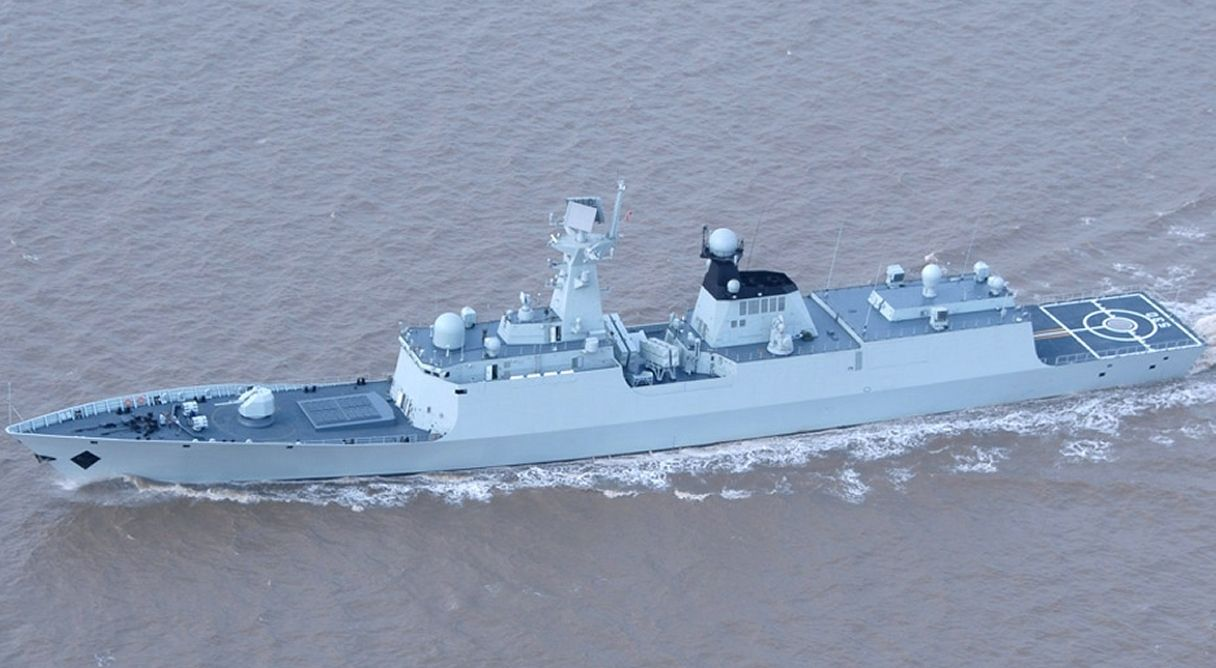 China S State Run China News Service Said Jan 16 That Huanggang Class Type 054a Multi Role Frigate Latest Addition To People S Libe Warship Us Navy Ships Naval