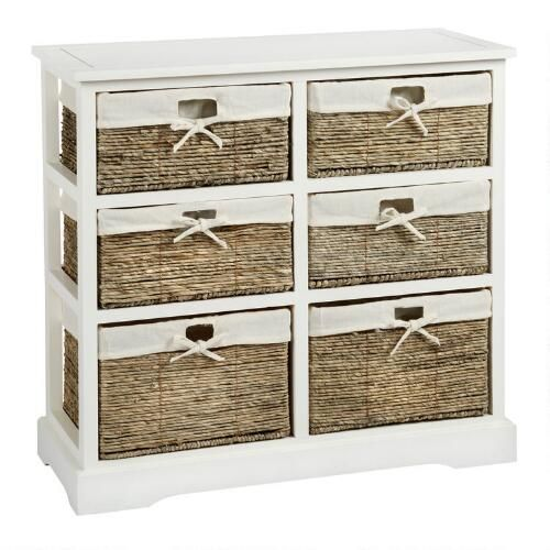 One Of My Favorite Discoveries At ChristmasTreeShops.com: Sara White 6 Basket  Storage