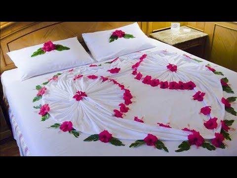 20 Most Romantic Wedding 1st Night Bed Decoration Ideas 2017 Romantic Bedroom Decor Bed Decor Bedroom Night