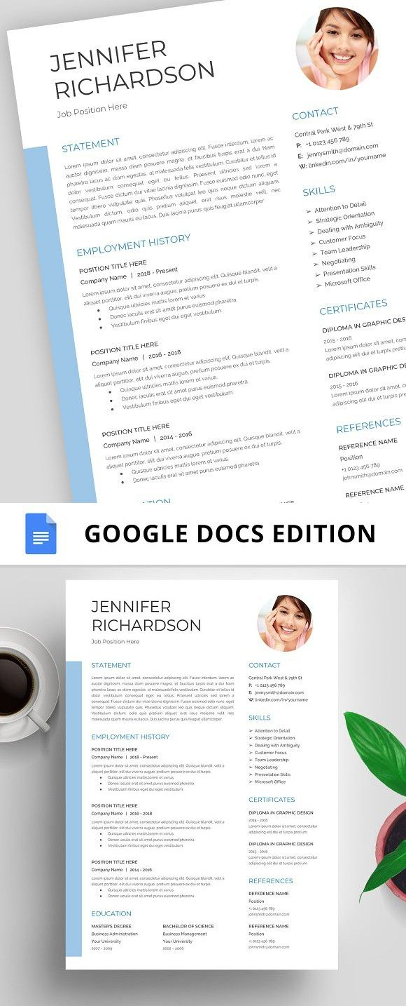resume template, cv, google docs resume, templates two column word template best 2019 out of high school