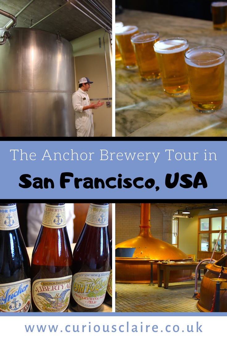 Katiedid Curiouser And Curiouser The San Francisco: Taking The Anchor Brewing Company Tour