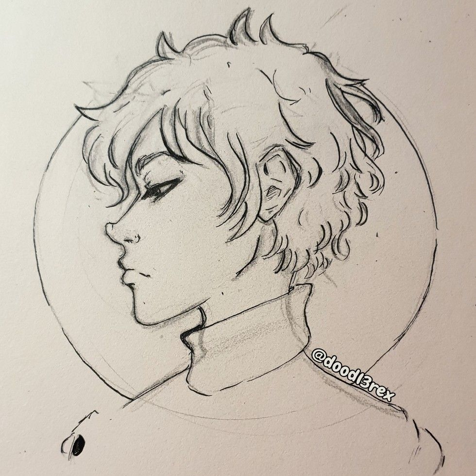 Sideprofile Boy In 2020 Face Profile Drawing Guy Drawing Profile Drawing