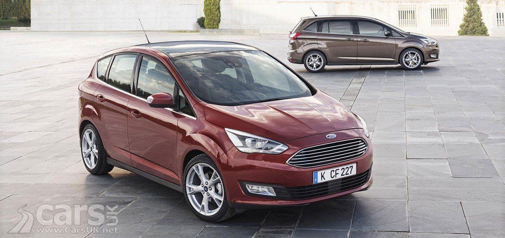 Ford C Max Grand C Max 2015 Facelift Revealed Car Ford Ford 2015 Ford