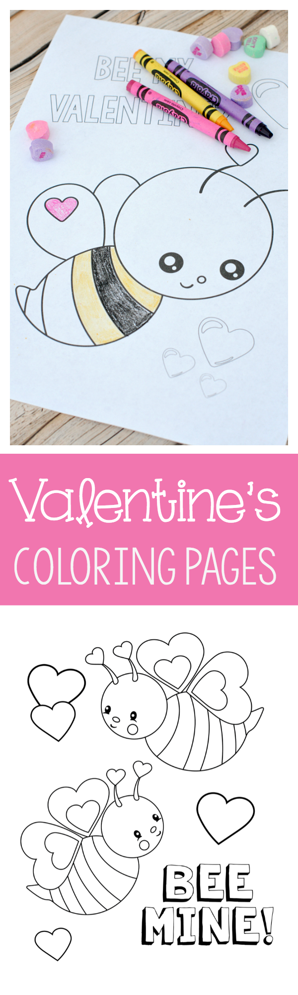 Valentine\'s Coloring Pages | Free printable, Free and Free printable ...