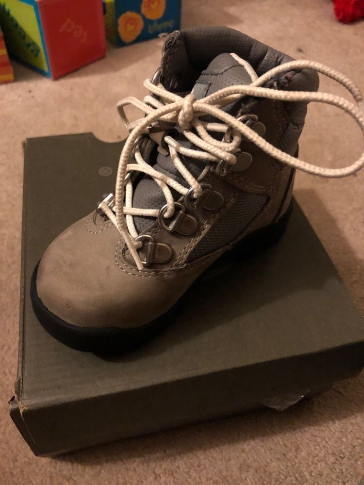 c1913707a6 Gray timberlands size 7c Shoes Kids' #fashion #clothing #shoes #accessories  #