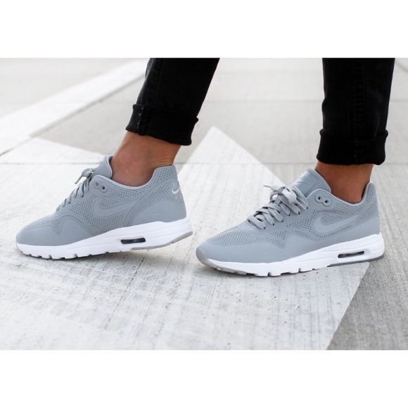 Nike Ultra Moire Wolf Grey Sneakers •The Nike Air Max 1