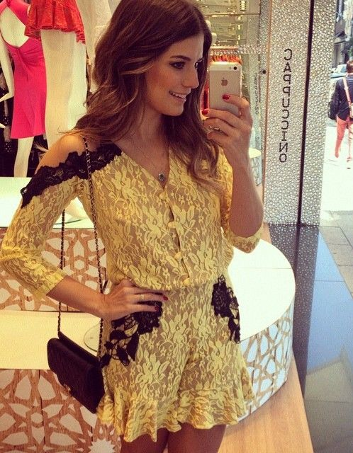 Imagen de fashion, look, and renda