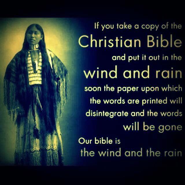 Citaten Geschiedenis : Een bijbel die je blootstelt aan wind en regen zal