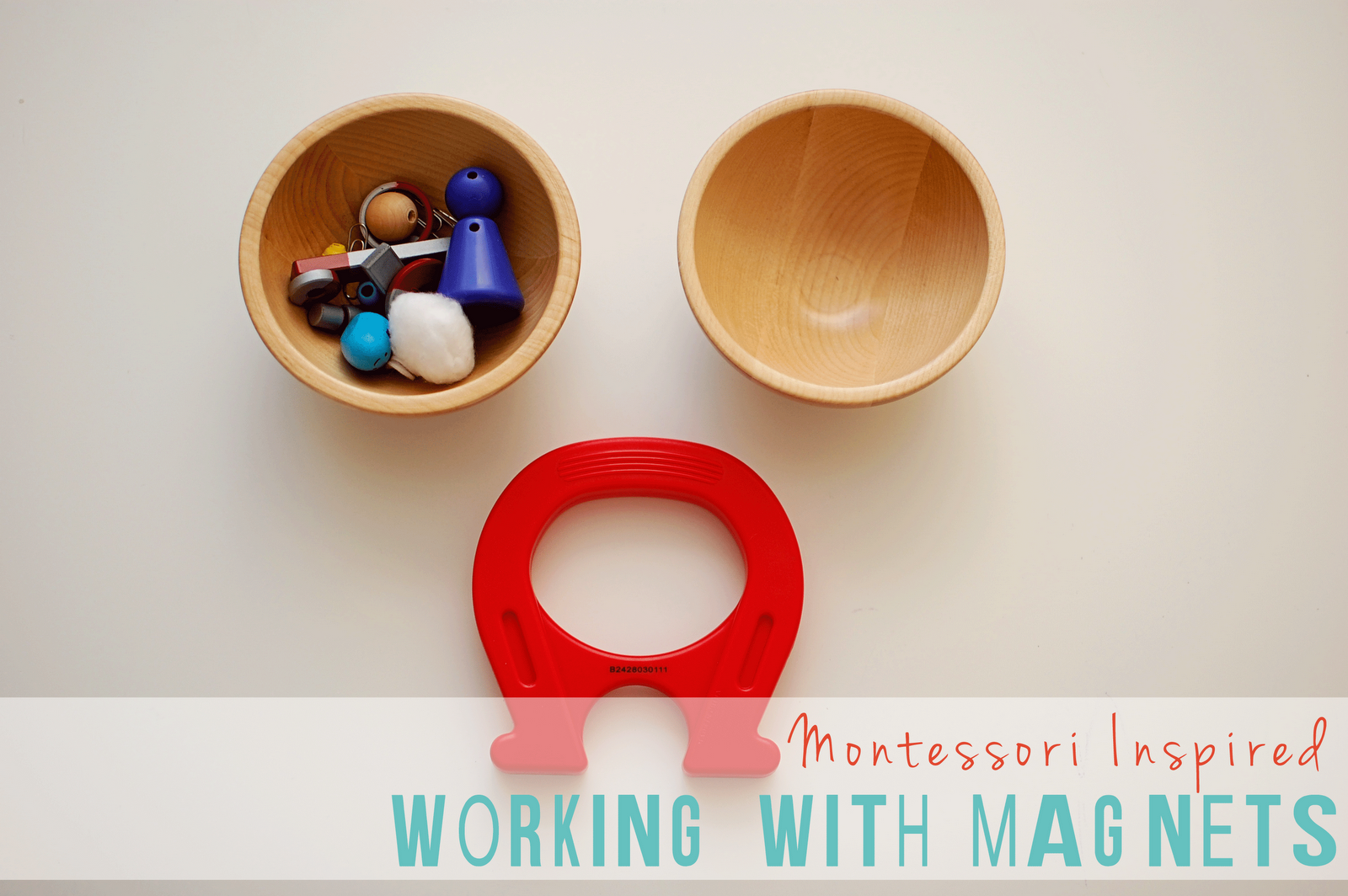 Harvesting Kale: Montessori Monday: Working with Magnets