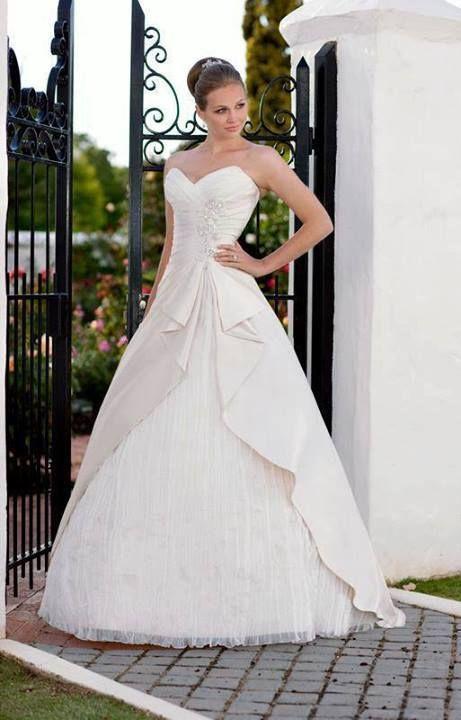 Fascinating Ruffled Sweetheart Pleated Ball Style Wedding Dresses ...