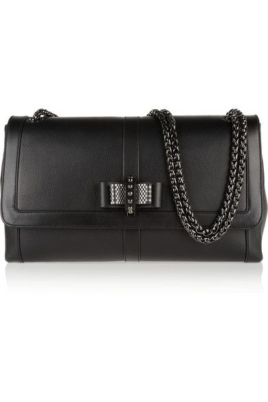 2e818210109 Shop now: Christian Louboutin Sweet Charity Large Bow-embellished ...