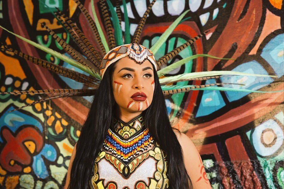 Still Here Chichimeca Guachichil Nahua Nativeamerican Indigenous Mexican Models Mexican Heritage Mexican Culture