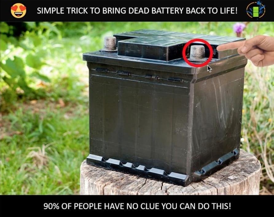 Diy Battery Reconditioning Pros Repair Dead Car Battery Car Battery