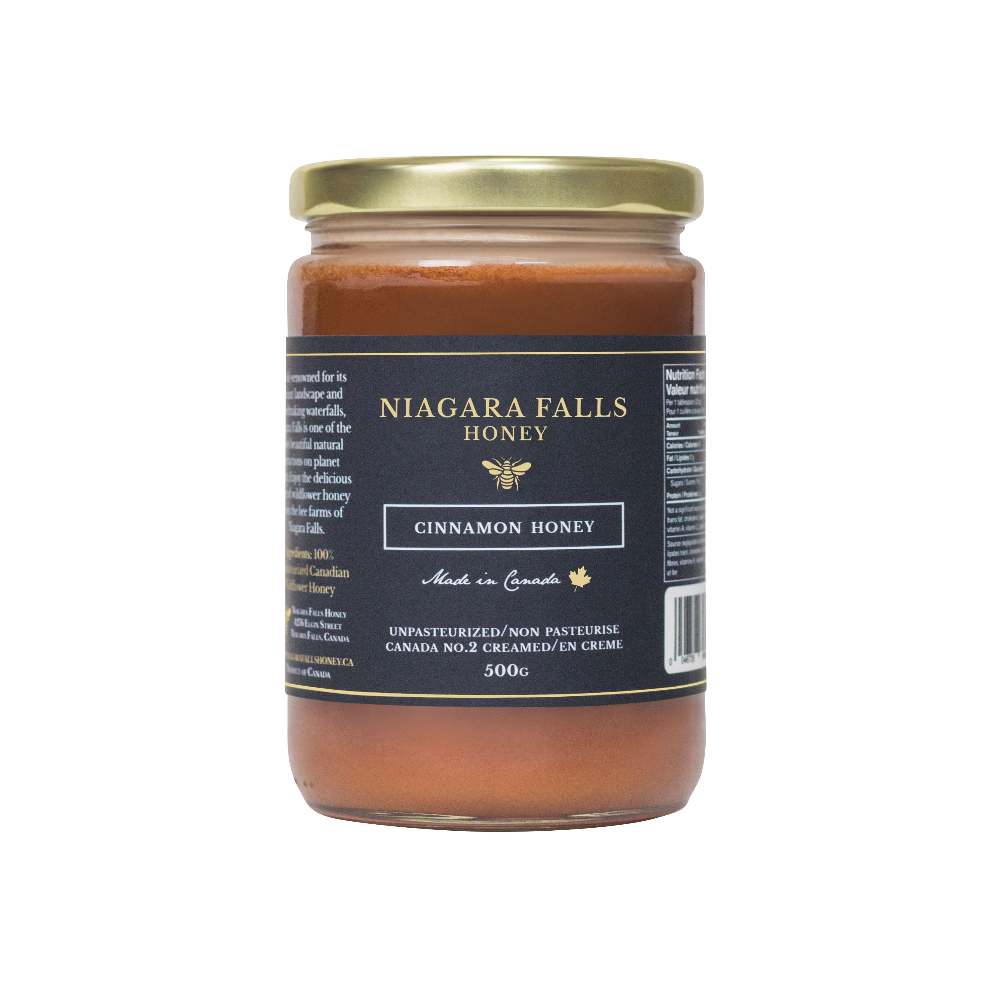 Enjoy the delicious taste of Canadian cream honey and