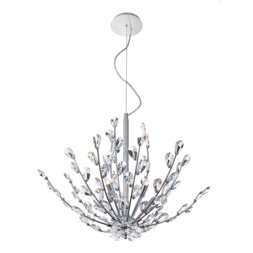Hetcherson collection light chrome pendant chrome pendants and