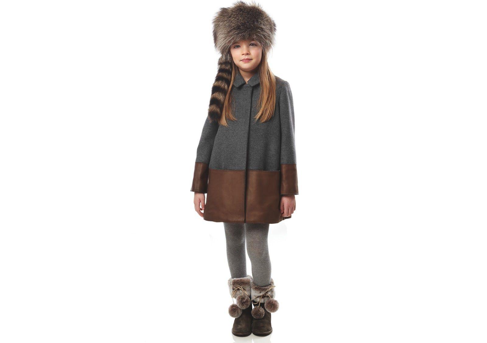 Il mondo di ingrid fendi kids fw collection casual chic inspired