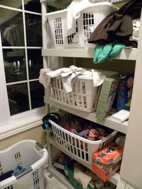 Laundry Organization tips    DSCN4184 by SheilaGregoire, via Flickr