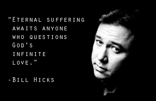 Eternal suffering awaits anyone who questions God's