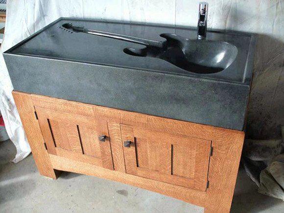 Fancy - The guitar sink