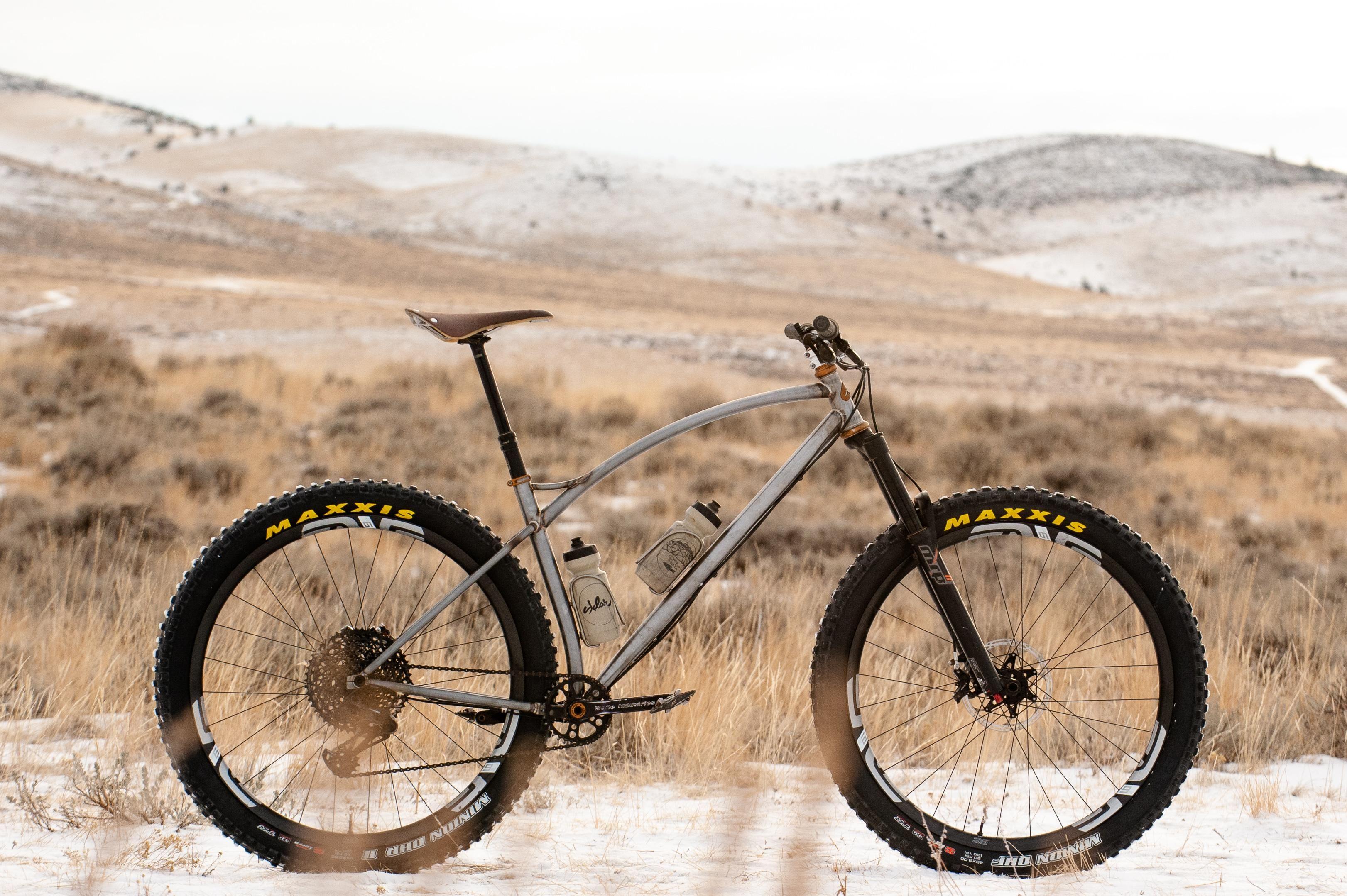 Nbd My New Sklar Prototype Hardtail Bikeporn Cyclocross Bike