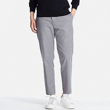 e3a65b2d34 MEN RELAXED ANKLE PANTS (COTTON), GRAY, medium | Andrew Capsule ...