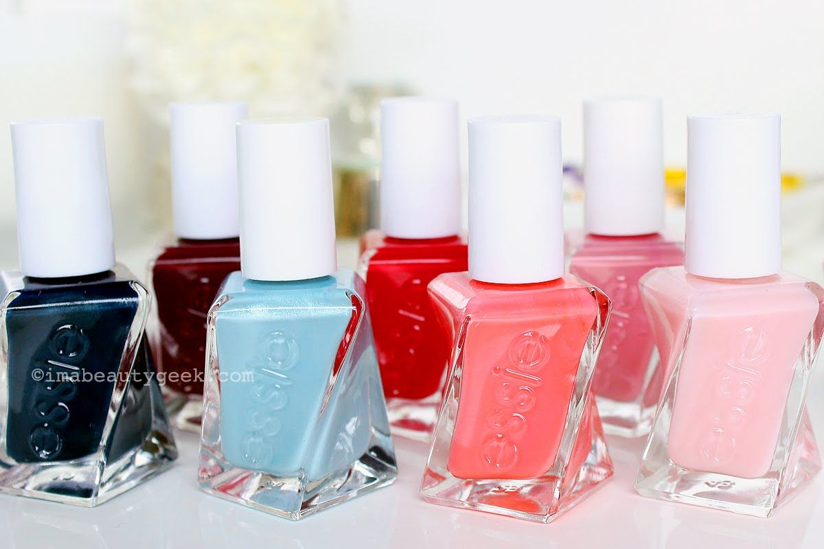 BEAUTYGEEKS: Essie Gel Couture tutorial + review | Nail Therapy ...