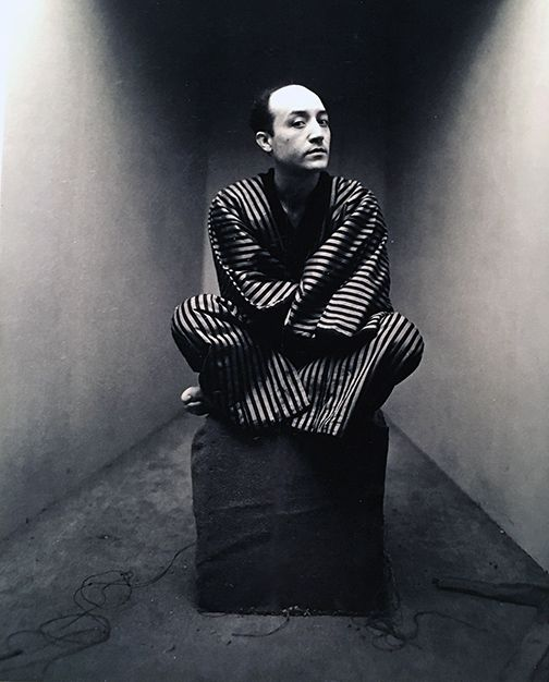 Irving Penn, Early Corner Portrait, Isamu Noguchi, New York, 1947.
