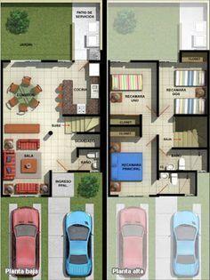 Casas En Venta Y Departamentos Casa Muestra Adosada Modelo Arce Fracc Real Del Valle En Mazatlan Plano Casa 2 Pisos Casas Diseños De Casas