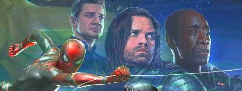 Sebastian Stan parle du tournage de Avengers Infinity War