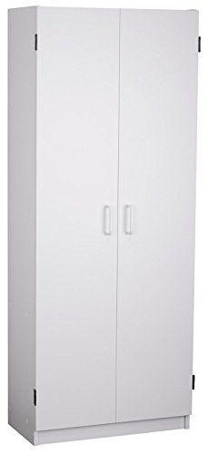 System Build Flynn Storage Cabinet White White Storage Cabinets