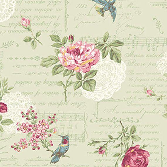 Ruru Rosa rosas y música Vintage y guión de rosa por agardenofroses
