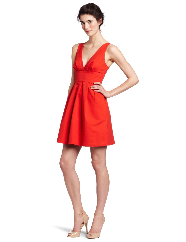Vestido Rojo Corto Juvenil Buscar Con Google Vestidos