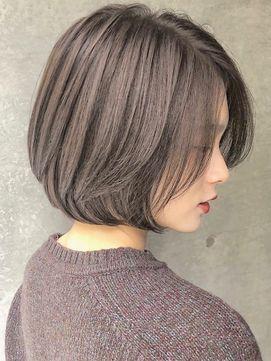 【2021年春】ナチュラルショートボブのヘアスタイル|BIGLOBE Beauty